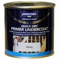 Johnstones Quick Dry White Primer Undercoat - 250ml